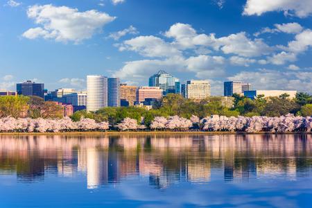 Washington DC, USA in spring season. Stockfoto
