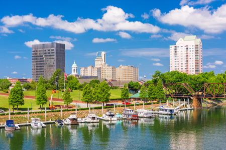 Augusta, Georgia, USA skyline on the Savannah River. Stock fotó