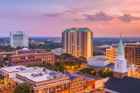 Tallahassee, Florida, USA downtown skyline. Banque d'images