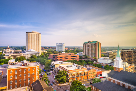 Tallahassee, Florida, USA downtown skyline. 스톡 콘텐츠