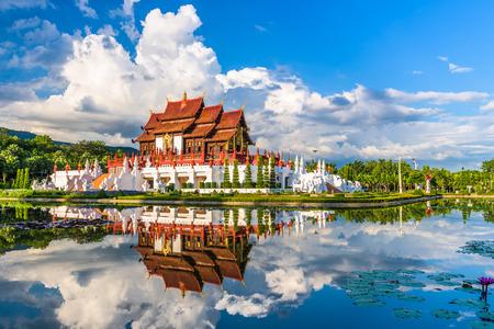 Chiang Mai, Thaïlande au Royal Flora Ratchaphruek Park.