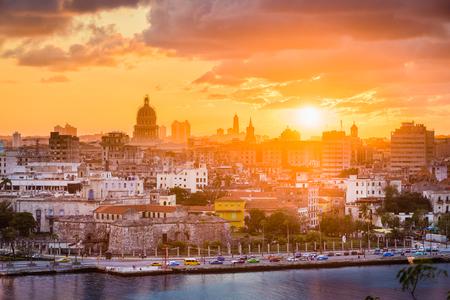 Ciudad de La Habana, Cuba. Foto de archivo
