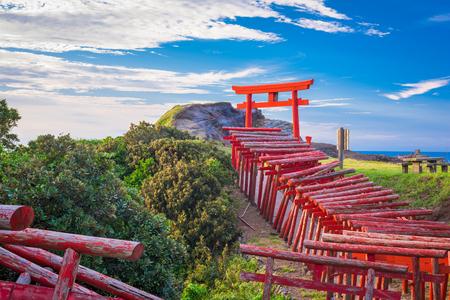 Motonosumi Inari Shrine in Yamaguchi Prefecture, Japan.