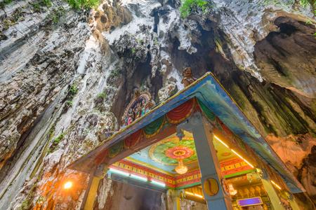 Batu Caves temple near Kuala Lumpur. 版權商用圖片