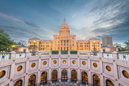 Austin, Texas, USA at the Texas State Capitol. 版權商用圖片