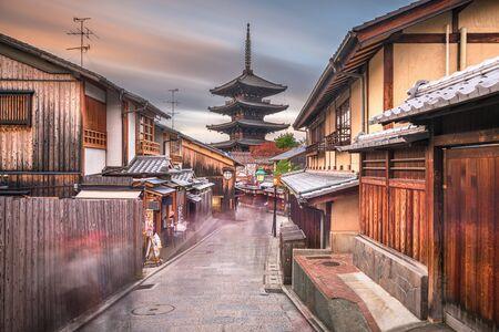 Kyoto, Japan old town in Higashiyama