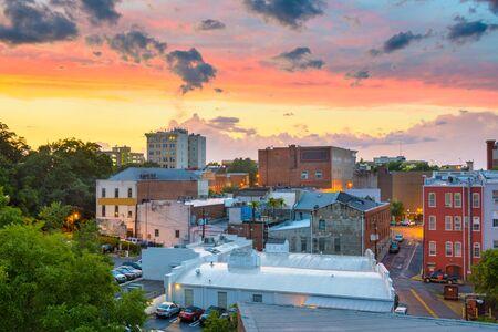 Athens, Georgia, USA downtown cityscape. Zdjęcie Seryjne
