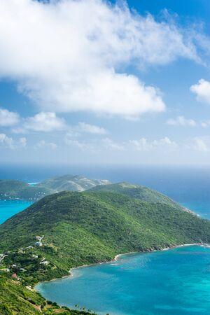 Virgin Gorda in the British Virgin Islands of the Caribbean. Stock Photo