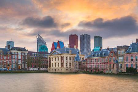 The Hague, Netherlands cityscape