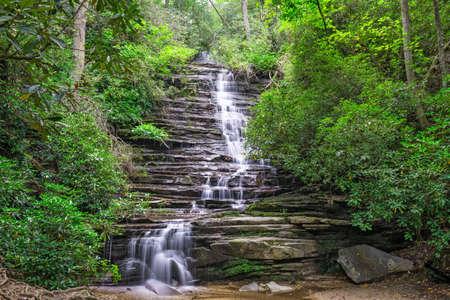 Panther Falls, Rabun County, Georgia on the Tallulah River.