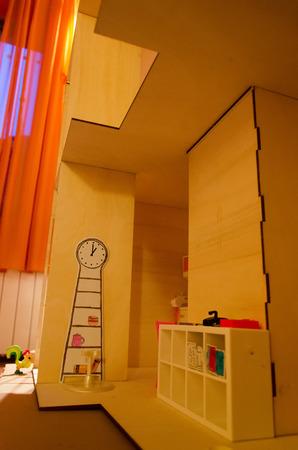 puppenhaus: Ausschnitt aus dem Inneren einer Puppenstube