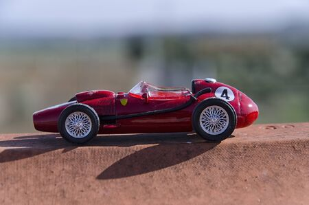 formula one: View model of a classic Formula one car