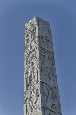 rationalist: Detail of the rationalist obelisk of Rome