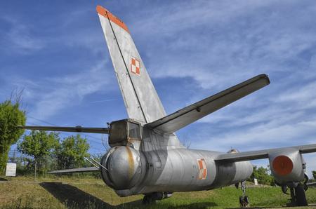 gunner: The tail gunner of the Ilyushin Il-28 jet bomber