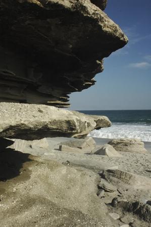 portada: The shape of the cliff near Antofagasta Stock Photo