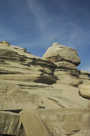 portada: View of rocks with particular shapes near Antofagasta