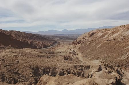 san pedro: The road to San Pedro de Atacama