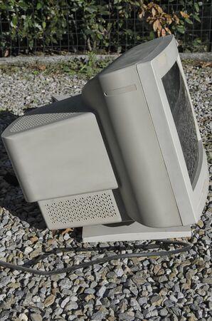 vga: Vista de un monitor VGA de los noventa