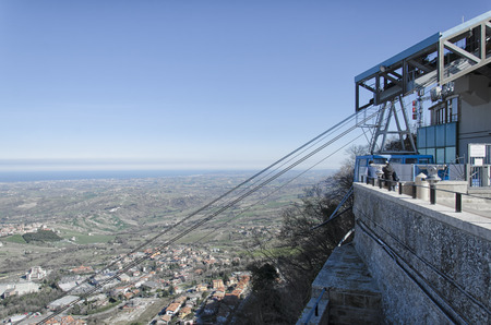 tramway: The arrival of the aerial lift of San Marino
