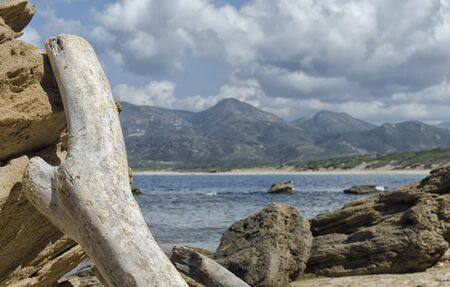 Typical image of summer in Sardinia Island Stock Photo