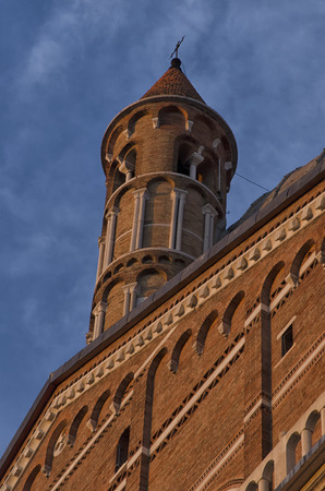 View of the Basilica of St. Anthony in Padua Stock Photo