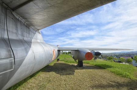 View of the Ilyushin Il-28 Beagle jet bomber