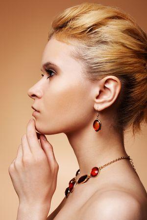 Beautiful blonde photo