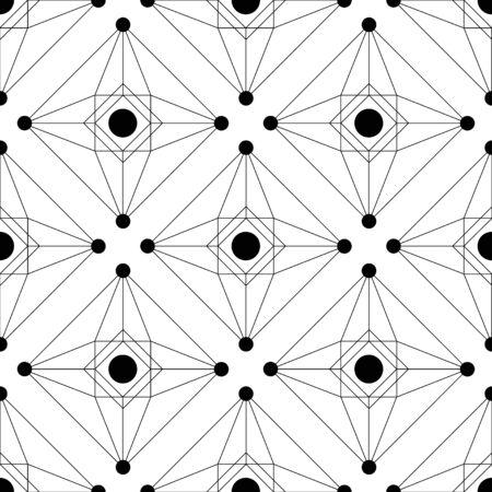 Black seamless vector background