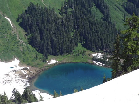 skagit: Sauk Lake