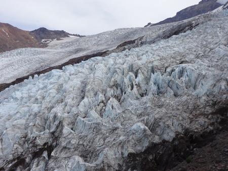 crevasse: Coleman Glacier, Mount Baker