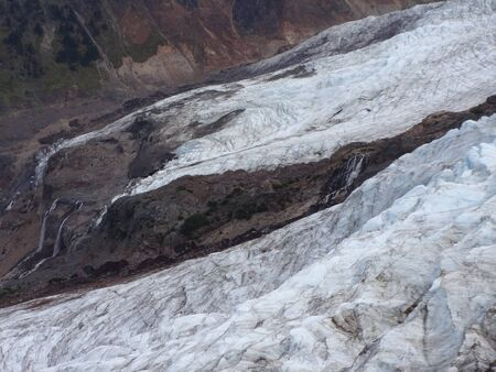 glaciers: Streams made from the edge of glaciers