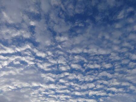 cloudscape: Cloudscape - Cirrocumulus Stock Photo