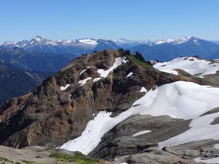 cascade: North Cascade mountains