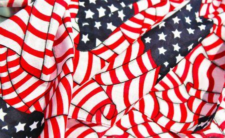 american: American Flags Stock Photo