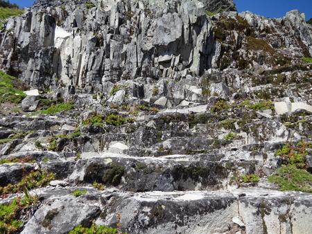 basalt: Basalt, Volcanic Rock formation in North Cascades