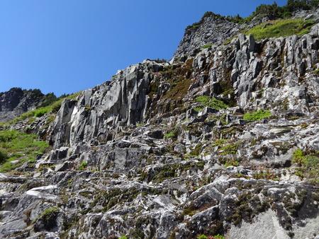 rock formation: Basalt, Volcanic Rock formation in North Cascades