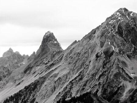 winchester: The peak of Mt. Larrabee, American Border Peak, Canadian Border Peak in fall