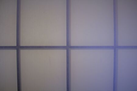 Texture of translucent shoji screen, traditional Japanese partition door