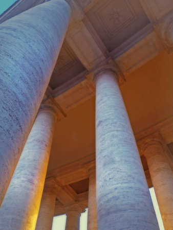 Columns from below