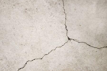 Crack nel terreno