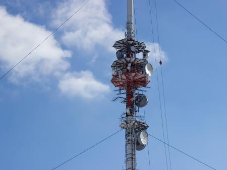 Antenna del telefono cellulare Archivio Fotografico