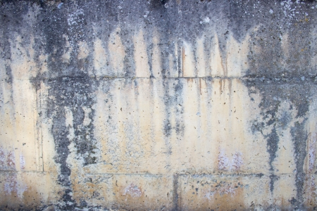 Weathered concrete wall Stock Photo