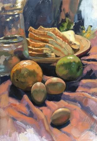 acrylic painting: still life acrylic painting
