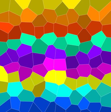 Abstract colourful background from a multi-colored glass mosaic Stock Photo - 8787587