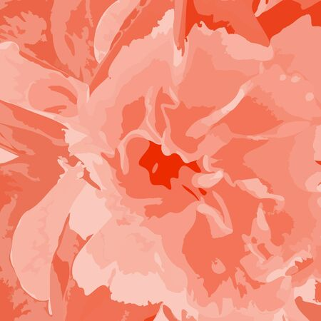 Background from multi-colored flower in bulk on a grass Vector