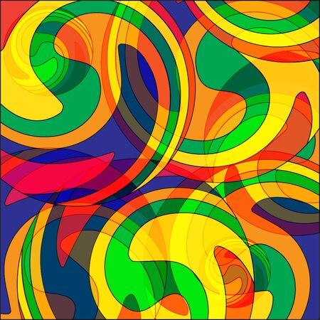 Abstract colourful background from a multi-colored glass mosaic Stock Vector - 9569365