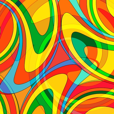 Abstract colourful background from a multi-colored glass mosaic Vector
