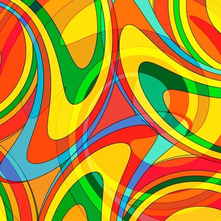 Résumé fond coloré d'une mosaïque de verre multicolores Vecteurs