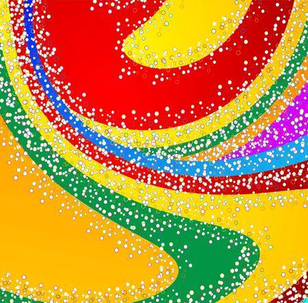 Abstract colourful background from a multi-colored glass mosaic