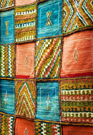 berber: Bright paints of the Moroccan and berber carpets